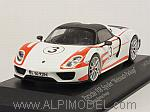 Porsche 918 Spyder Weissach Package 2015 Salzburg Racing Design by MINICHAMPS