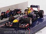 Red Bull RB9 GP Brazil 2013 Final Grand Prix of Mark Webber by MINICHAMPS