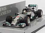 Mercedes W05 AMG #44 Winner GP Malaysia 2014 World Champion Lewis Hamilton by MINICHAMPS