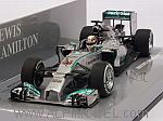 Mercedes W05 AMG Winner GP China 2014 World Champion Lewis Hamilton by MINICHAMPS