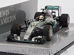 Mercedes W06 AMG Hybrid Winner GP Japan 2015 World Champion Lewis Hamilton by MINICHAMPS