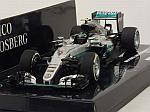 Mercedes W07 AMG Hybrid #6 Winner GP Australia 2016 World Champion Nico Rosberg by MINICHAMPS