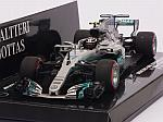 Mercedes W08 AMG #77 GP Mexico 2017 Valtteri Bottas by MINICHAMPS