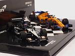 Minardi PS01 2001 & McLaren MCL33 Canadian GP 2018 - Fernando Alonso 300th GP Edition Set by MINICHAMPS