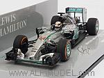 Mercedes W06 AMG Hybrid Winner GP Japan 2015 World Champion Lewis Hamilton (HQ resin) by MINICHAMPS