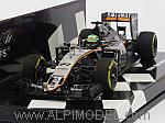 Force India VJM09 Mercedes 2016 Nico Hulkenberg (HQ Resin) by MINICHAMPS