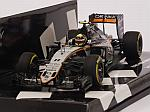 Force India VJM09 Mercedes #11 3rd Place European GP 2016 Sergio Perez (HQ Resin) by MINICHAMPS