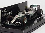 Mercedes W07 AMG Hybrid #6 Winner GP Japan 2016 World Champion 2016 Nico Rosberg (HQ resin) by MINICHAMPS