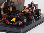 Red Bull RB12 #3 GP Austria 2016 Daniel Ricciardo (with figurine) by MINICHAMPS