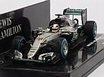 Mercedes W07 AMG Hybrid #44 Winner GP Brasil 2016 Lewis Hamilton (HQ resin) by MINICHAMPS