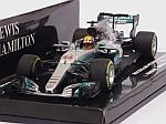Mercedes W08 AMG #44 Winner GP China 2017 Lewis Hamilton  (HQ resin) by MINICHAMPS