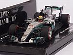 Mercedes W08 AMG #44 GP Russia 2017 World Champion Lewis Hamilton  (HQ resin) by MIN
