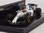 Williams FW40 #40 Test Abu Dhabi 2017 Robert Kubica by MINICHAMPS