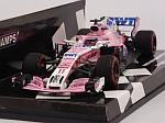 Force India VJM11 Mercedes #11 3rd GP Azerbaijan 2018 Sergio Perez (HQ Resin) by MINICHAMPS