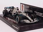 Mercedes W10 AMG #44 GP USA 2019 Lewis Hamilton World Champion by MINICHAMPS