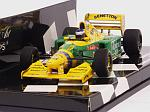 Benetton B193B Ford Testing Barcelona 1993 Michele Alboreto by MINICHAMPS