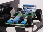 Benetton B194 Ford #6 GP Monaco 1994 JJ Lehto  (HQ Resin) by MINICHAMPS