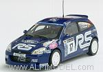 Ford Focus RS WRC RAC 'Network Q' Rally 2001 Higgins - Thomas by MINICHAMPS