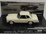 Mercedes 230 SL Hard Top 'Pagode' Frankfurt 1963 (White) by MINICHAMPS