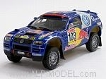Volkswagen Race Touareg Winner Rally Por La Pampas 2005 Saby - Perin by MINICHAMPS