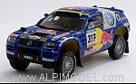 Volkswagen Race Touareg Rally Barcelona-Dakar 2005 R. Gordon by MINICHAMPS