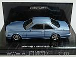 Bentley Continental T 1996 (Metallic Light Blue) by MINICHAMPS