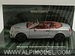 Bentley Continental Supersports Cabriolet 2010 Grey Metallic by MINICHAMPS