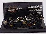Lotus 72 Ford #6 1972 World Champion Emerson Fittipaldi 'World Champions Collection' by MINICHAMPS
