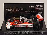 McLaren M23 Ford  1976 World Champion James Hunt 'World Champions Collection' by MINICHAMPS