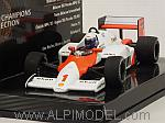 McLaren MP4/2C TAG 1986 World Champion Alan Prost 'World Champions Collection' by MINICHAMPS