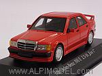 Mercedes 190E 2.5-16 Evo 1 1990 (Red) by MINICHAMPS