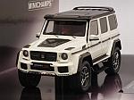 Brabus 500 4x4-2 (Mercedes G500) 2016 (White) by MINICHAMPS
