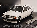 Brabus 190E 3.6 S 1989 (White) by MINICHAMPS