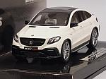 Brabus 850 4x4 Coupe auf basis Mercedes GLE 63S 2016 (White) by MINICHAMPS