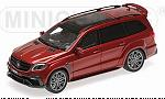 Brabus 850 Widestar XL (Mercedes AMG GLS 63) 2017 (Red Metallic) by MINICHAMPS