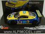 Audi R8 #98 LMS Nurburgring 2010 Basseng - Stippler - Stuck - Rockenfeller by MINICHAMPS