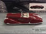 Delahaye Type 165 Cabriolet 1939   Mullin Museum Collection by MINICHAMPS
