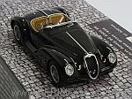 Alfa Romeo 6C 2500 SS Corsa Spider 1939 (Black) (resin) by MINICHAMPS