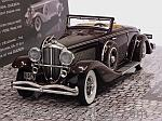 Duesenberg SJN Supercharged Convertible Coupe 1936 (Dark Red) by MINICHAMPS