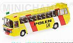 Mercedes O302 Bus Football World Championship 1974 Polen by MINICHAMPS