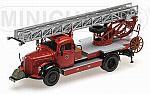 Mercedes L3500 DF17 1950 Fire Brigades Bensheim by MINICHAMPS