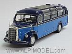 Mercedes O3500 Bus 1950 (Light Blue/Dark Blue) by MINICHAMPS