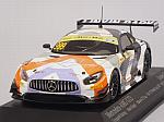 Mercedes AMG GT3 Gruppem Racing Maro Engel #999 Macau GT Cup - FIA GT World Cup 2017 by MINICHAMPS