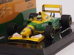 Benetton B192 Ford #19 Winner GP Belgium 1992 Michael Schumacher 1st F1 Win by MINICHAMPS