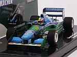 Benetton B194 Ford Demo Run Belgium GP 2017 Mick Schumacher by MINICHAMPS