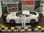 Lexus LFA 2010  Top Gear Edition with The Stig figurine by MINICHAMPS