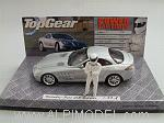 Mercedes SLR McLaren 'Top Gear' with 'The Stig' figurine by MINICHAMPS