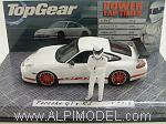 Porsche 911 GT3 RS 'Top Gear' with 'The Stig' figurine by MINICHAMPS
