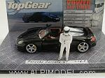 Porsche Carrera GT 'Top Gear' with 'The Stig' figurine by MINICHAMPS