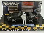 Porsche 911 Turbo Cabriolet (997 II) Top Gear with The Stig figurine by MINICHAMPS